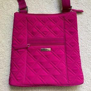 Vera Bradley Iconic Hipster Crossbody Bag